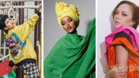 Wanita hati-hati pilih gaya colour block, elak kelihatan pelik