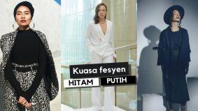 Kuasa fesyen nuansa hitam putih
