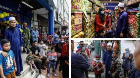 [VIDEO] Subhanallah… ramai sanggup beratur panjang nak masuk kedai Ustaz Ebit Lew