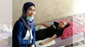 Dermalah walaupun RM1 untuk bantu Aifa, pejuang kanser otak