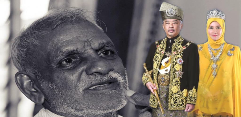YANG di-Pertuan Agong Al-Sultan Abdullah Ri'ayatuddin Al-Mustafa Billah Shah dan Raja Permaisuri Agong Tunku Hajah Azizah Aminah Maimunah Iskandariah menzahirkan ucapan takziah kepada keluarga bekas pemain bola sepak negara, V. Krishnasamy yang meninggal dunia semalam.