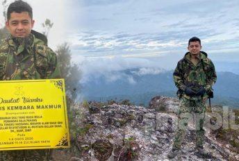 Putera raja pertama hiking di Gunung Tahan, Tengku Hassanal dipuji warganet
