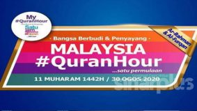 Malaysia #QuranHour, mantapkan lagi akhlak ummah