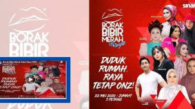 (Video) Borak Bibir Merah Siri 5: Edisi Raya 2020