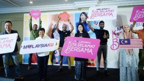 Astro mengangkat tema 'Malaysiaku Kita Selamat Bersama' sempena Hari Kebangsaan