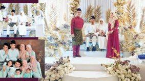 Anak sulung selamat nikah, Fauzi Nawawi dan Lisdawati terima menantu