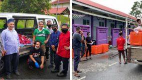 10 rumah anak yatim, anak asnaf dan warga emas terima korban KPKU, KOSISWA USIM