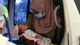 """""""Irfan, ini ibu…"""" Bayi baru dilahirkan terpaksa berpisah kerana Covid-19 akhirnya…"""