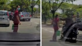 [VIDEO] Hati-hatilah wahai wanita… mudahnya kerja si peragut rantai leher!