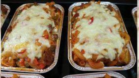 Baked macaroni bebola daging dengan keju leleh mudah bikin, menggamit selera