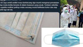 Esok pelitup muka dijual RM1 seunit peringkat runcit, 95 sen harga borong