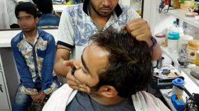 Lelaki sesak nafas lepas minta urut tengkuk bunyi 'letup' di kedai gunting