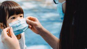 Si kecil umur 5 tahun ke bawah tak perlu pakai topeng, kata WHO dan UNICEF