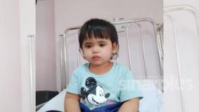 Doakan adik Adawiyah, terpaksa buang mata kiri kerana kanser