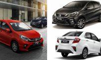 Myvi, Axia, Bezza – 3 kenderaan Perodua yang terlaris di Malaysia