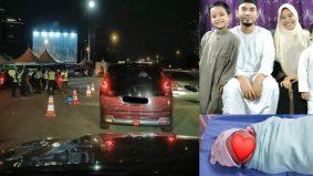 Isteri bersalin masa roadblock, ustaz Hasrul jadi bidan segera