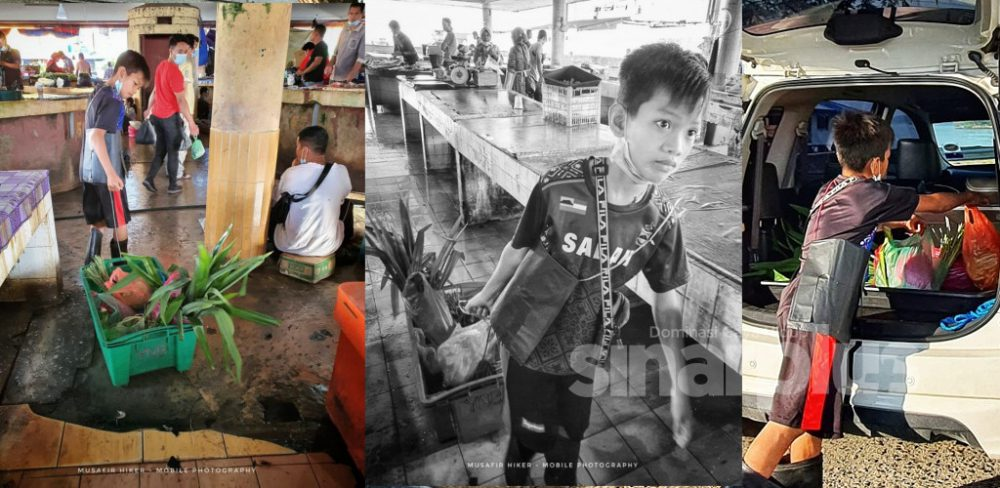 'Aku budak pasar... aku mencari rezeki halal buat diri dan keluarga' - Amat