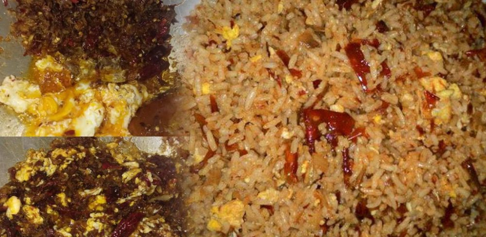 Nasi goreng cili kering versi opah... Aduhai simple dan sedap