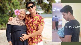 Hafidz Roshdi timang anak kedua, 9 September jadi tarikh istimewa