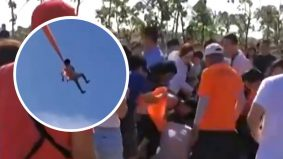 Video kanak-kanak 3 tahun terlilit layang-layang gergasi bikin ramai kecut-perut
